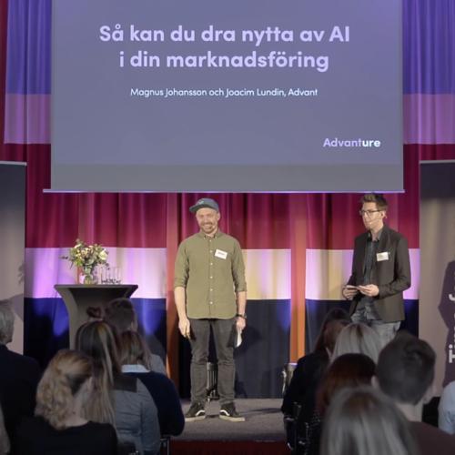 Hur du som marknadsförare kan dra nytta av AI