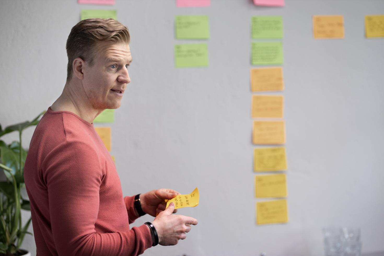 Arena reklam hade en afärsidé som de ville testa och genomförde tillsammans med Advant en innovationssprint. På bara fem dagar och med en strukturerad process för idégenerering, input från experter, en realistisk prototyp som testades på potentiella kunder är de nu redo att ta produkten vidare ut på marknaden.